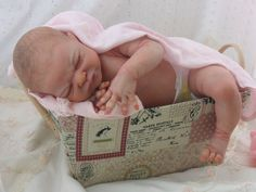 Reborn baby girl Miracle by Laura Lee Eagles~Limited Edition Sold Out Stunning