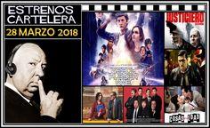 """Como cada semana, desde nuestro podcast """"El Perfil de Hitchcock"""", repasamos todas las películas de estreno que podremos ver en la cartelera española... en esta ocasión, los de la semana del 28 Marzo de 2018.  http://www.tavernamasti.com/2018/03/estrenos-de-la-semana-28-marzo-de-2018.html"""