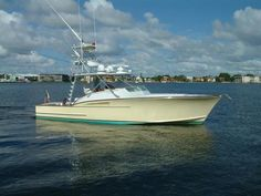 HMY Yacht Sales has the best selection of used yachts for sale of any brokerage firm. Find used motor yachts, sport fishing yachts, center console boats, and much more. Fishing Yachts, Sport Fishing Boats, Used Boat For Sale, Cool Boats, Used Boats, Boats For Sale Florida, Fishing Boat Accessories, Lego Boat, Boats