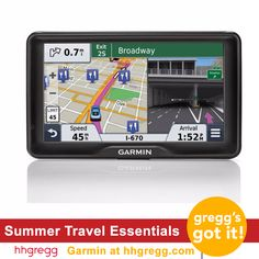 Don't forget to pack your Garmin nüvi® GPS for your summer road trip
