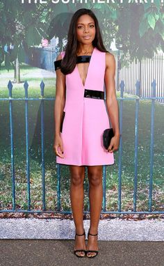 Pin for Later: London's Most Stylish Celebs Hit the Serpentine Summer Party Naomie Harris Wearing Christopher Kane.