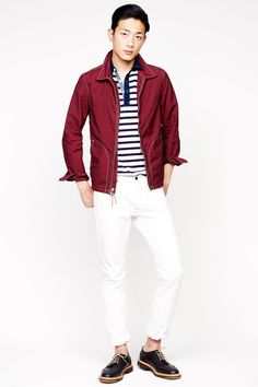 J.Crew Spring 2014 Menswear Collection #menswear