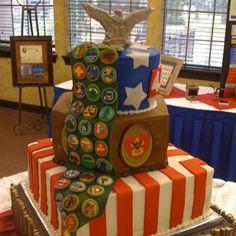 Boy Scout Cake!