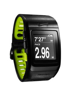 Nike+ SportWatch GPS. I had a Garmin and the band broke shorty after I bought it