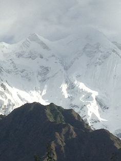 Rakaposhi peak, hunza pakistan