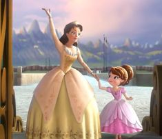 Sofia The First Characters, Princess Sofia The First, Disney Characters, Tangled Party, Tinkerbell Party, Cartoons Love, Disney Cartoons, Princess Birthday, Princess Party