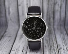 Vintage Constellation Watch | Northern Hemisphere | Leather Watch | Ladies Watch | Mens Watch | Birthday | Wedding | Gift Idea | Accessories