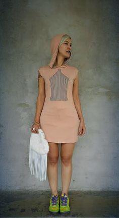 Vestido e bolsa Kely Fernandes