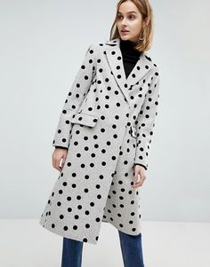 ASOS Spot Coat