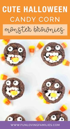 Kids love these adorable and silly Halloween brownies. You can make them with your favorite brownie recipe and a few other basic supplies that you can pick up at your grocery store. #halloween #halloweencraft #halloweendiy #crafts #kidscrafts #kidsactivities #activities #craftideas #funforkids
