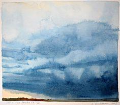 Lisa Grossman / watercolor Storm Over Douglas Co.