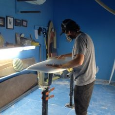 Christenson Surfboards // Shaping Demo