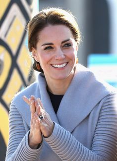 Catherine, Duchess of Cambridge watches a cultural welcome in Carcross during the Royal Tour of Canada on September 28, 2016 in Carcross, Canada.