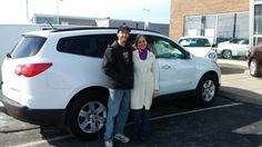 Karen and Leon I am glad you came to see me and everything worked out for you. It was a good client of mine that previously owned that 2010 Traverse and it was well maintained. Enjoy!    Jay Grosman Www.TalkingCarsWithJay.com Bommarito St.Peters