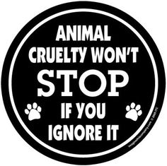 How can animal cruelty be stopped?