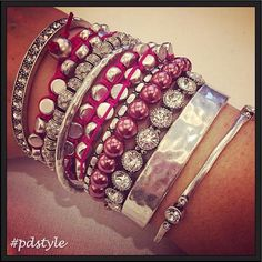"""""""I've got a real sweet tooth for some Premier arm candy!!"""" ~ @lady_bling_slinger  #pdarmparty"""