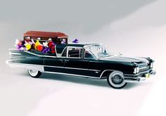 1959 Cadillac Flower Car Model and Picture