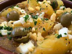 Me sabe a Málaga: Patatas a la malagueña