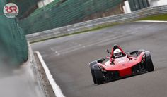 BAC Mono charging down the straight