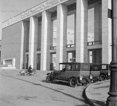Attuale piazzale Aldo moro – Ingresso della Città Universitaria Anno: Dicembre 1937