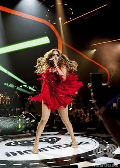 Jennifer Lopez at the iHeartRadio Music Festival 2011. Enter now for a chance to win a trip and tickets to iHeartRadio Music Festival 2012: http://vegas.iheart.com/go/iheartradio-music-festival/   Listen to your own Jennifer Lopez inspired station on iHeartRadio:http://www.iheart.com/#/search/?q=jennifer+lopez