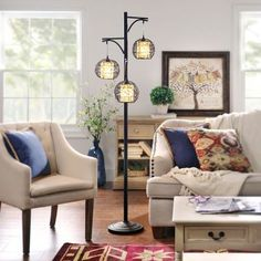Floor Lamps Unique Lamps And Wicker On Pinterest