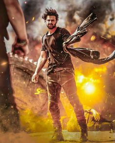 best whatsapp dp for boys New Images Hd, New Photos Hd, Dj Movie, Movie Photo, Movie Titles, Actor Picture, Actor Photo, Prabhas And Anushka, Prabhas Actor