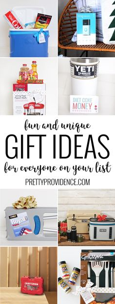 You will love these fun and unique gift ideas for everyone on your list! Perfect… You will love these fun and unique gift ideas for everyone on your list! Perfect for a friend neighbor grandparents your own family or co-workers! Easy Gifts, Homemade Gifts, Cute Gifts, Unique Gifts, Thank You Gifts, Gifts For Dad, Gifts For Friends, Stocking Stuffers For Men, Girl Themes