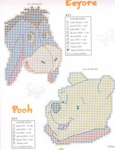 WINNIE THE POOH MAGNETS FOR YOU 4/18 (REPINNED ALL 18 PAGES FROM DONNA WERNER)
