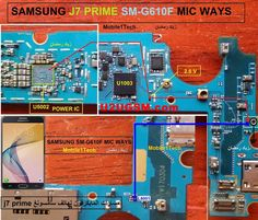 Samsung Galaxy Prime Mic Problem Jumper Solution Ways Microphone Not Working For more information and new tips and tricks about this Samsung A 7, Samsung J7 Prime, Samsung Mobile, Iphone Repair, Mobile Phone Repair, Mobiles, Buy Cell Phones Online, Best Cell Phone Deals, Electronic Schematics