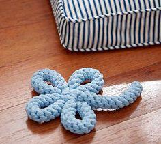 Jax & Bones Flower Good Karma Rope Toys™ #potterybarn