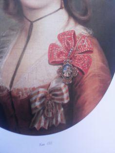 Пальменбах Елизавета Александровна (1761(2)-1832), урожденная баронесса Черкасова. Дочь барона Черкасова Александра Ивановича (1728-1788) и принцессы Курляндской, Екатерины Ивановны Бирон (1727-1797). Худ. Дарбес И.Ф.А. (деталь), 1781 г. Государственная Третьяковская галерея.