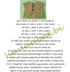 baby knit vest,knit,anlatımlı örgü