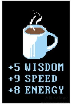 Coffee Points Posters by Snorg Tees at AllPosters.com