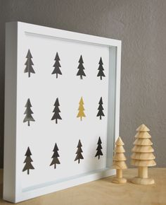 Put together this simple, last minute DIY Wall Art project that will brighten up the house for the holidays.
