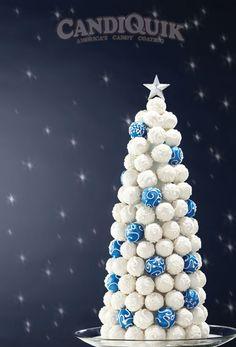 Cake Ball Tree