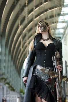 cyber steampunk **That mask!!!!!!**
