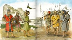 Conquista de la península Ibérica por el Califato Omeya - Arre caballo!buscar