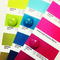 M&M's are a marvelous match for PANTONE