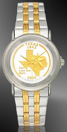 TX Quarter Youth/Unisex Bracelet Coin Watch S111-QUS2-2