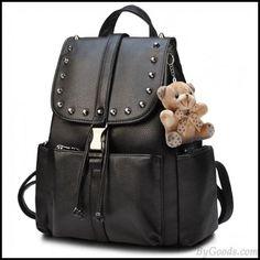 Lace Backpack, Backpack Travel Bag, Leather Backpack, Fashion Backpack, Drawstring Backpack, Pu Leather, Girl Backpacks, School Backpacks, Stylish Backpacks