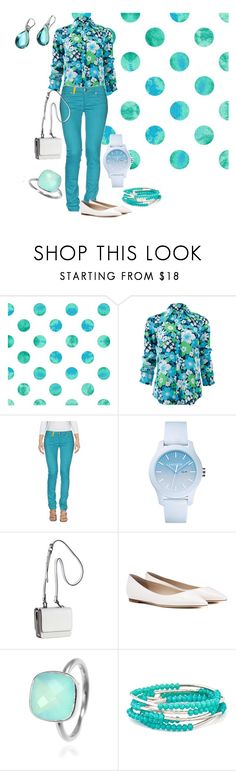 """Calm, cool & collected"" by ningaunis ❤ liked on Polyvore featuring Michael Kors, MPJ, Lacoste, Kendall + Kylie, Jimmy Choo, Chrysalis, Antica Murrina, michaelkors, floralprint and coloreddenim"