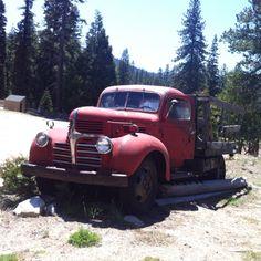 Old Dodge Flatbed off HWY 50