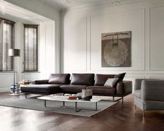 Designer sofa – Tempo | Italian modern furniture from Natuzzi Italia