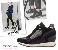 Que mejor manera de empezar el mes de octubre, estrenando unas zapatillas #Geox #mujer #zacaris ¡Si es Geox, respira! https://www.zacaris.com/articulos/100018221.htm Compra antes de las 17.00 h y lo recibirás mañana
