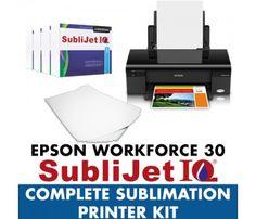 Epson WorkForce 30 Complete Sublimation Printer Kit