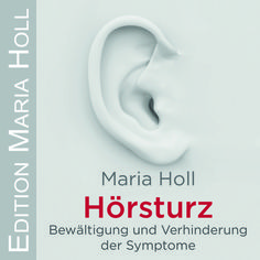 Bewältigung und Verhinderung der Symptome. Diese CD hilft sowohl zur Verhinderung von Hörsturz als auch zur Bewältigung der Symptome. CD / ISBN 978-3-9816772-4-9