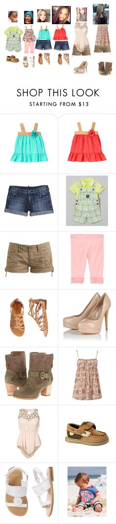 """Meet and Greet in caifornia"" by born2shine ❤ liked on Polyvore featuring True Religion, Wet Seal, Lipsy, Timberland, REDSOUL, Lili London, Sperry, Gymboree and Mini Boden"