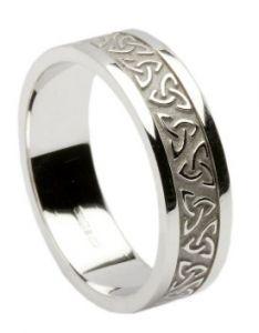 Womens Celtic Wedding Bands | TV Wedding Bands For Women ...