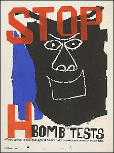 Ben Shahn, Protest Poster, United States, 1960